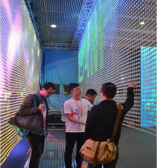 威特姆LED点光源软屏